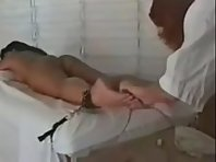 Tickling Torture in restraints