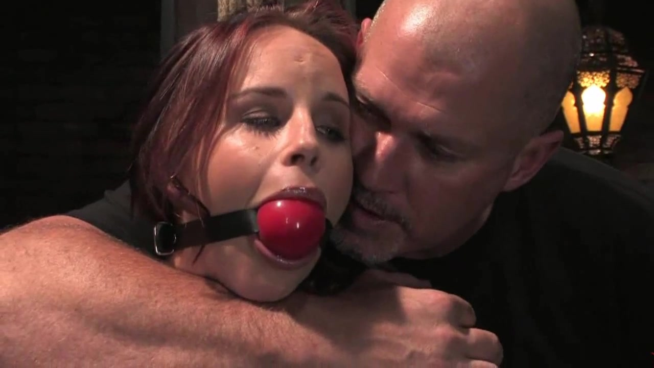 Bella Rossi in Chains Used as a Sexslave