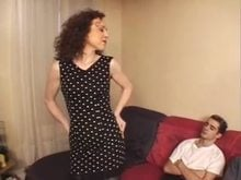 Anal and twat Fisting with Brunette