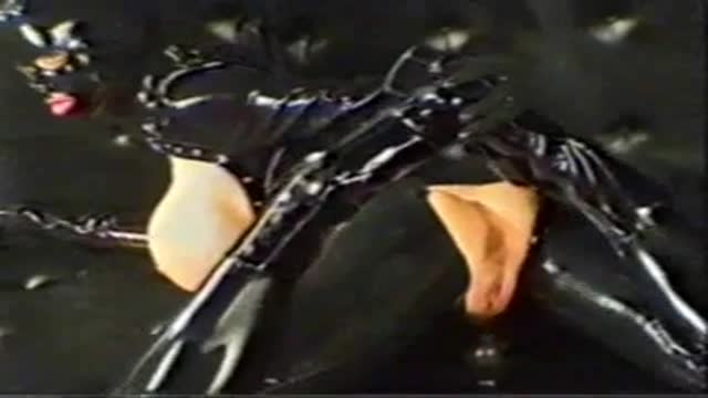 Anal training for submissive