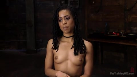 Training to be a good anal slave