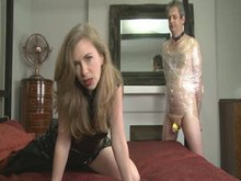 Cuckold - spunk Eating Humiliation