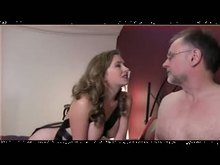 Cuckolded boy blowing