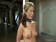 Training slave girl