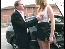 French BDSM - Amateur girl Humiliated and used