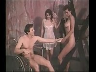 Threesome BDSM with Dominant Man