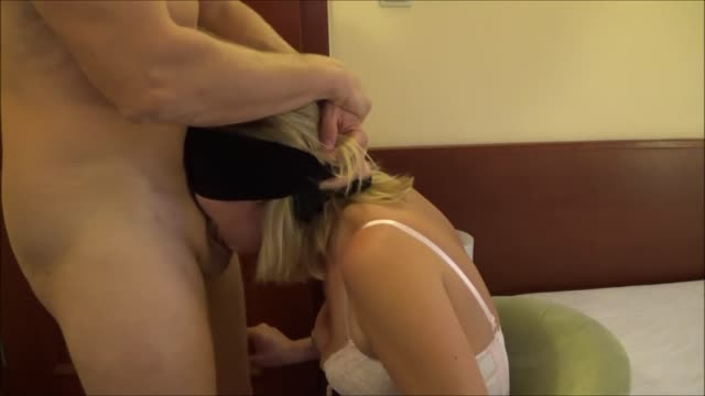 Rough Throatfuck and gagging lady
