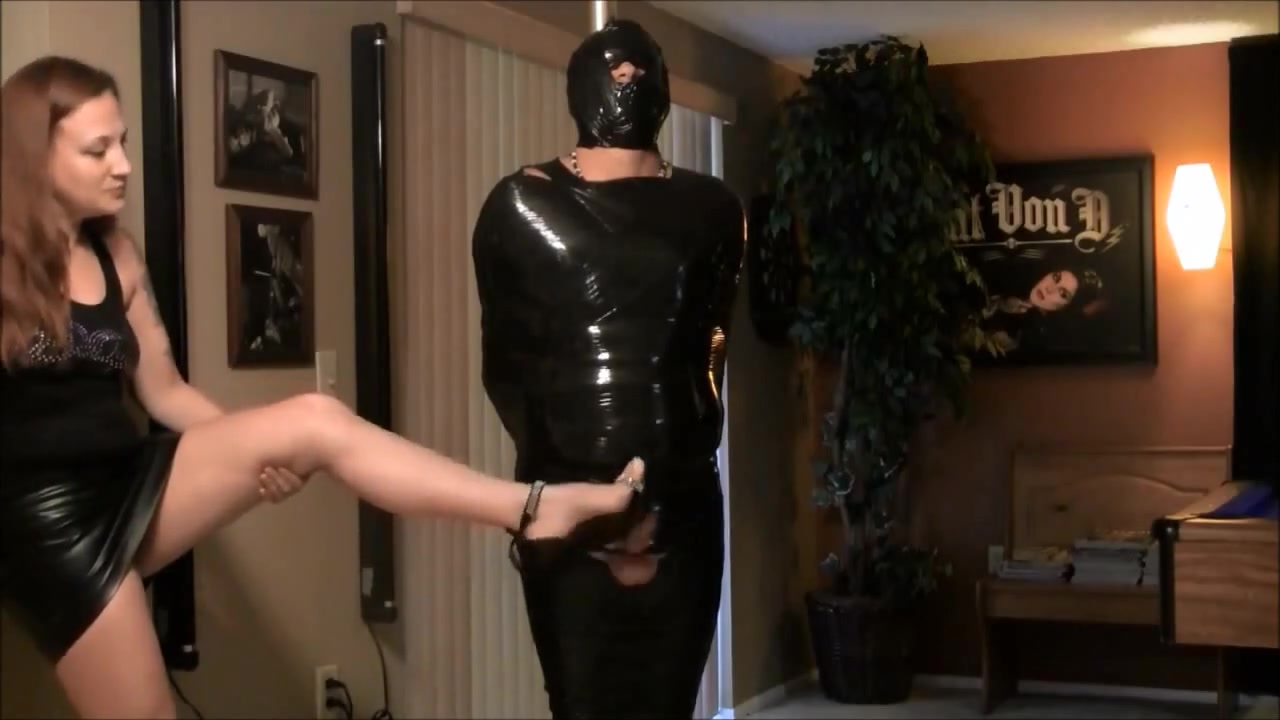 Handjob and CBT while Mummified