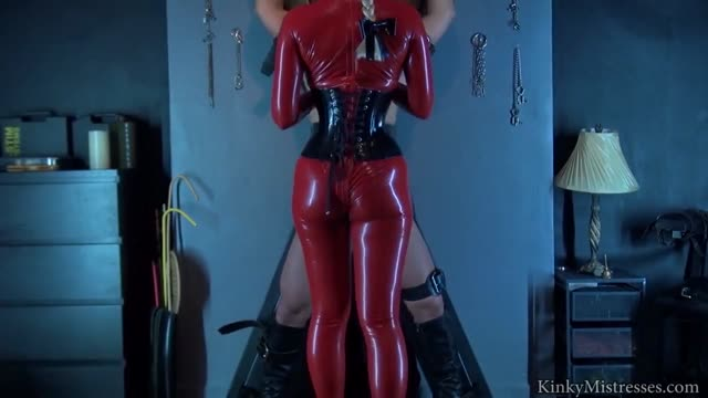 Latex Lucy Used at the cross - Part 2
