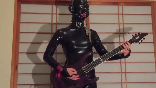 Gimp suit ball gag and Metallica