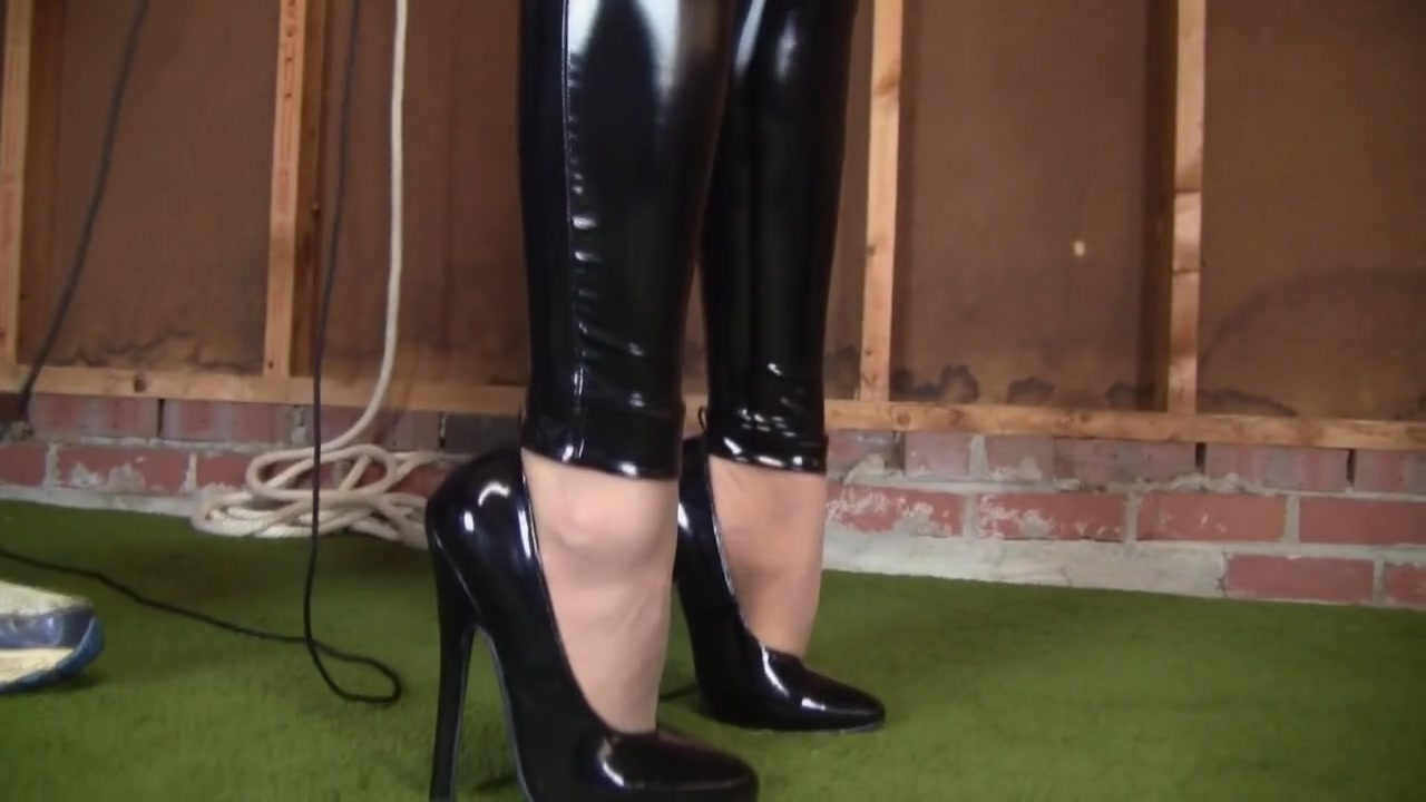 Tight catsuit Hogtie