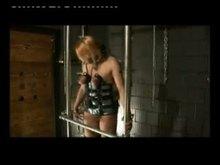 Slave Eva tit bondage