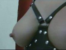Nipple torture - BDSM Homemade Part 2
