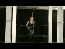Gagged yellow-haired Slave Tit Torture