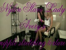 Nipple Torture with vacuum pump