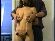 Amateur breast torture