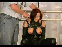 Melanie's Tortured boobies Rubber