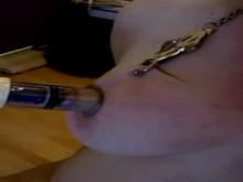 Nipple and tit torture - Amateur