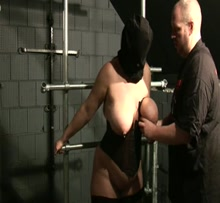 Tit torture - breasts in pain