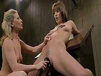 Hitachi Wand and slave girls