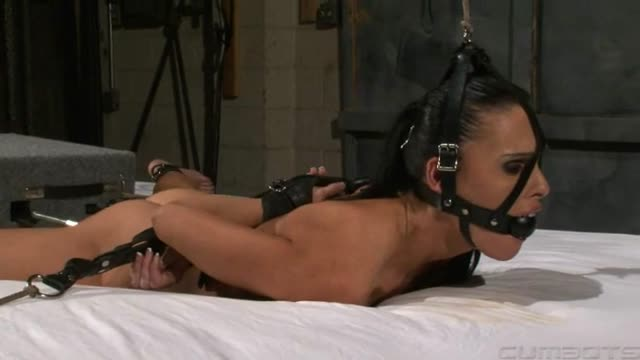 Jennifer Dark - Forced to jizz in Ropes and Restraints