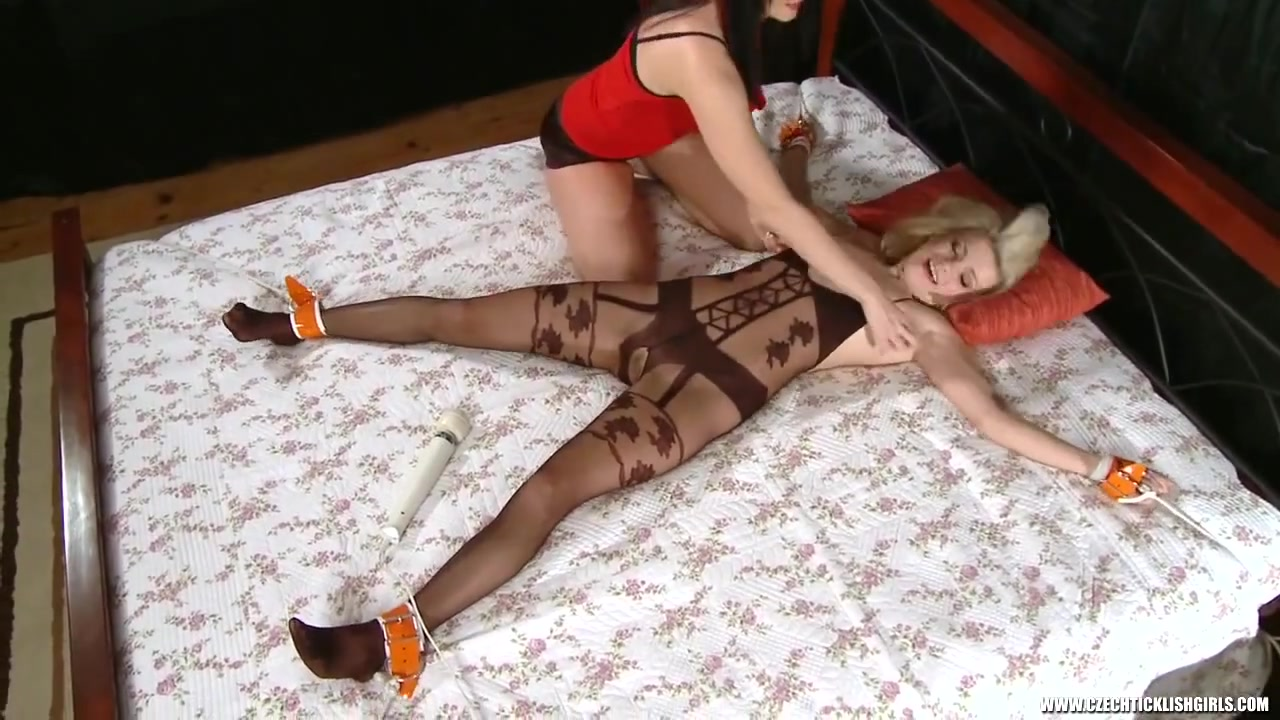 orgasm Torture - Tickling and Restraints