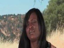 ebony woman Bondage Fantasy