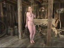 Bdsm and Breast Bondage - Strict Session