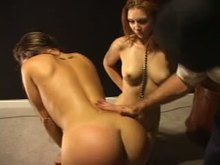 Sub Forced to jizz in front of her Friend