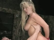Bound and hammered blondy