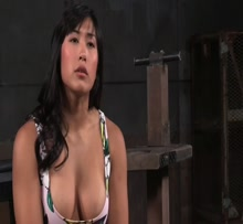 Chained asian bitch