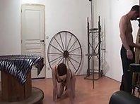 Very hard French BDSM