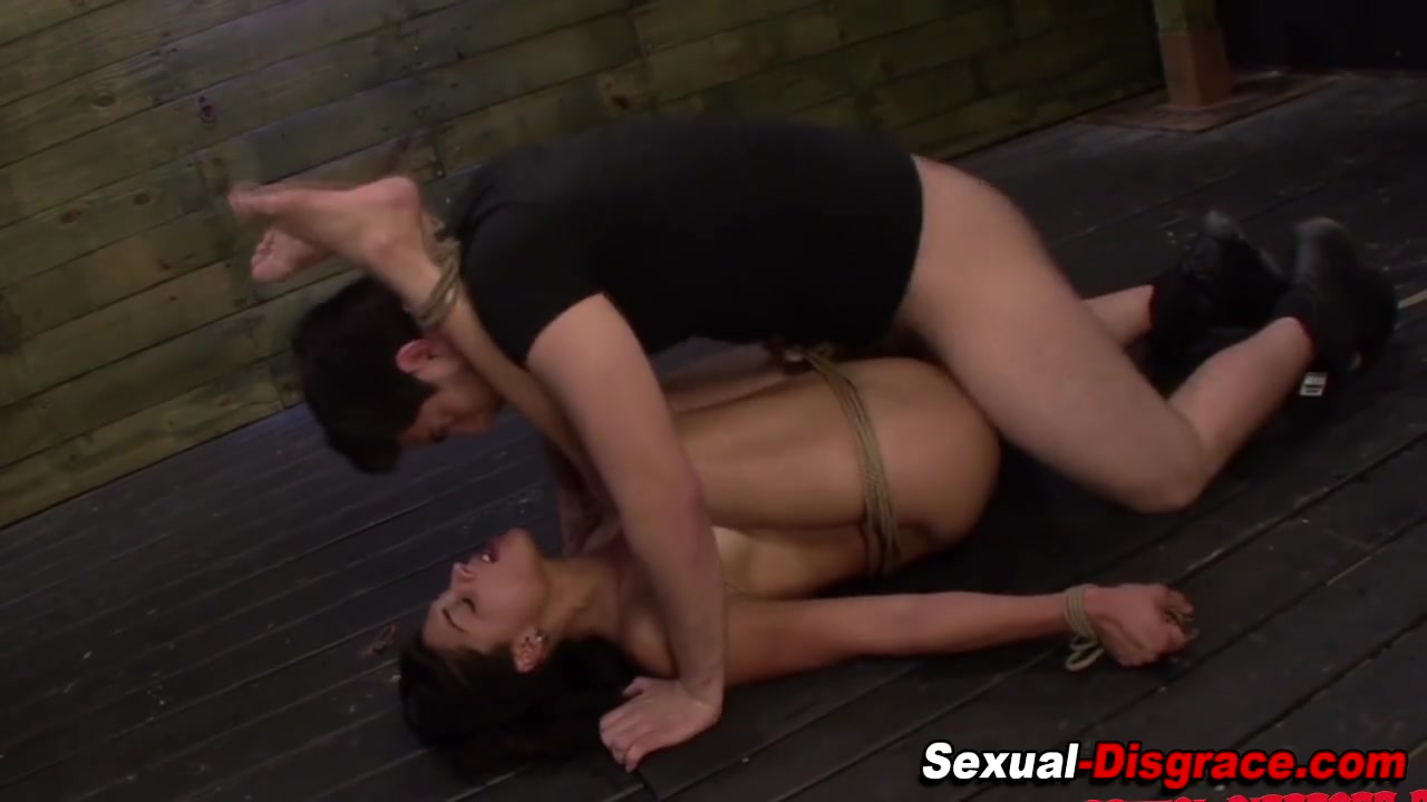 anal hooked and throatfucked