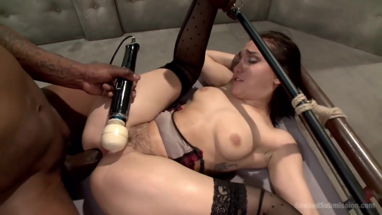 Anal - black cocks and Restraints