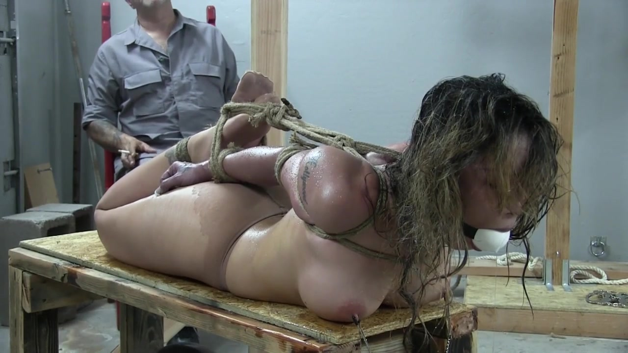 Tight extreme hogtie - Part 2