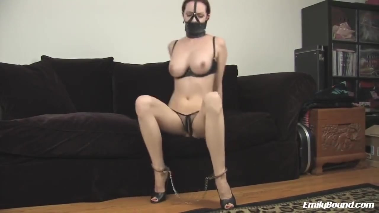 Emily in Muzzle Gag