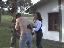 Latin Mistress - Outdoor Punishment