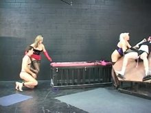Male Slaves Tortured and Punished in Dungeon