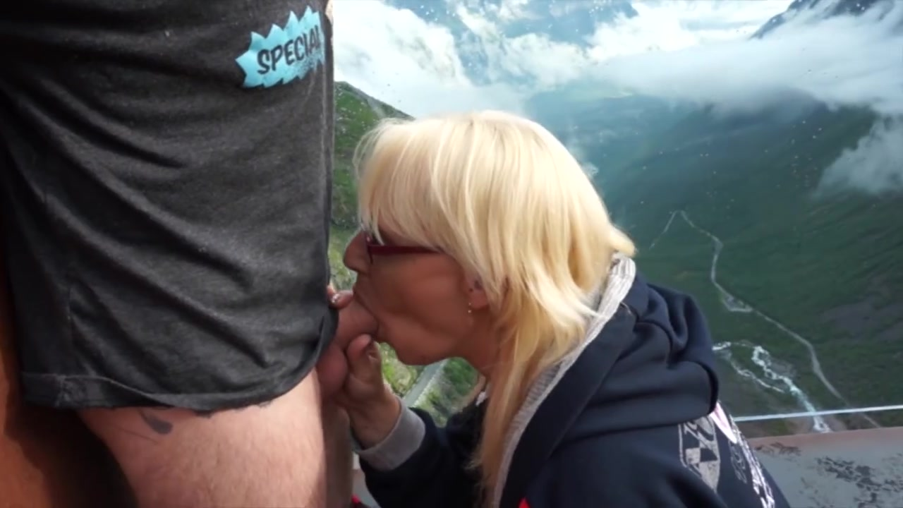 Norwegian Monica MILF Pegging and Fisting a submissive