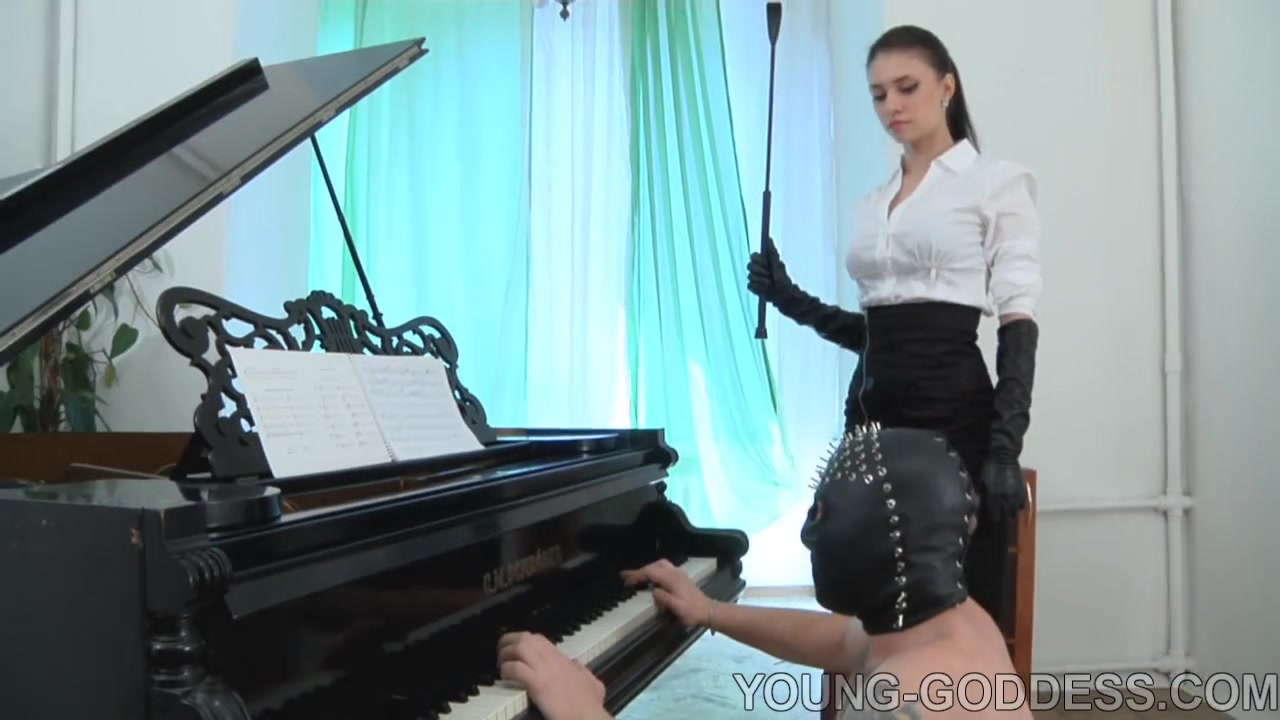 Russian Goddess and slave