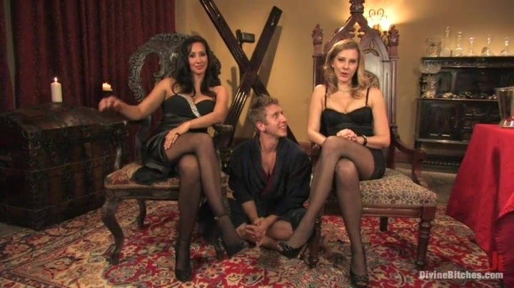 Maitresse Madeline and Isis Love Dominating