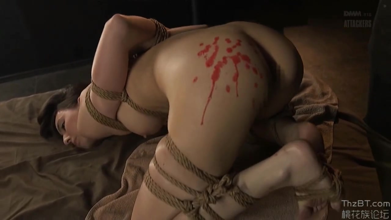 Hot wax for fine Japanese in Bondage