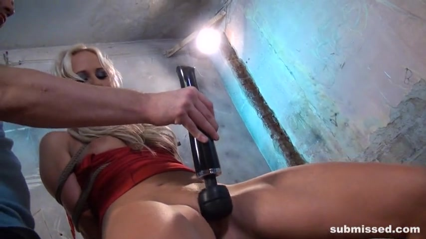 Carla Cox Bound and Machine-fucked
