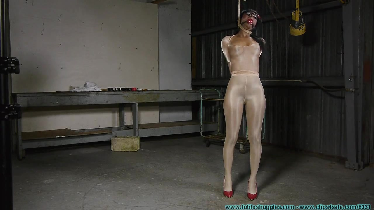 tape and Pantyhose Bondage