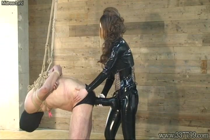 Ms Kira and her strap-on slave