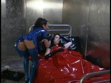 Lesbian Latex BDSM and StrapOn