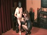 Cock and Ball Torture in Bondage Chair