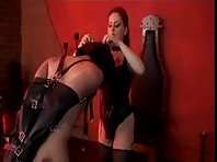 Mistress Jemini Domination and tightly tied balls
