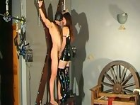 Mistress torments and sounds her Slave