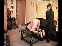 Leather Mistress Del Rio Ball Torture